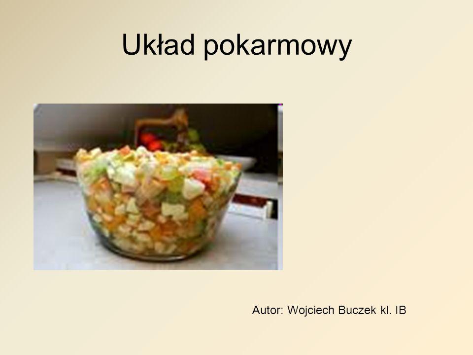 Układ pokarmowy Autor: Wojciech Buczek kl. IB