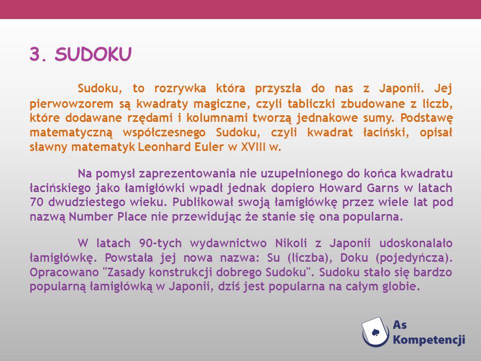 3. SUDOKU