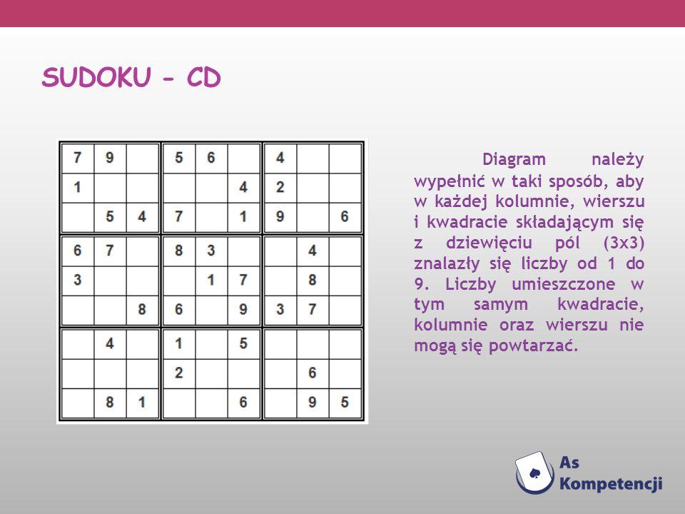SUDOKU - cd