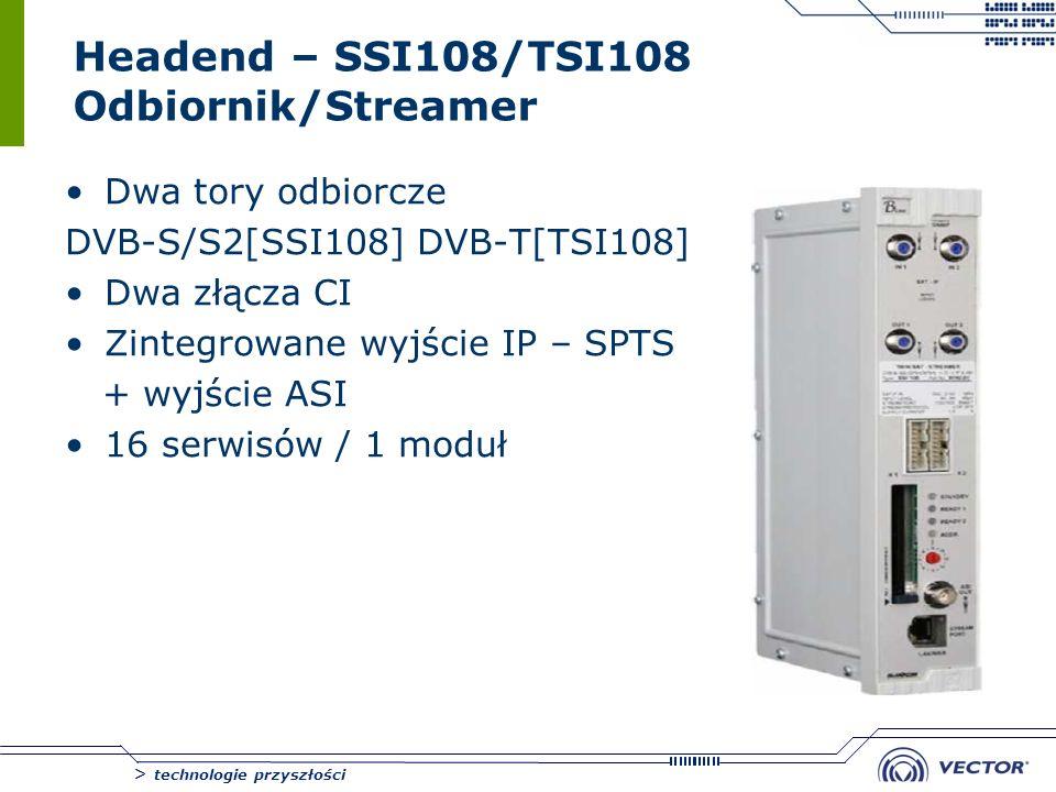 Headend – SSI108/TSI108 Odbiornik/Streamer