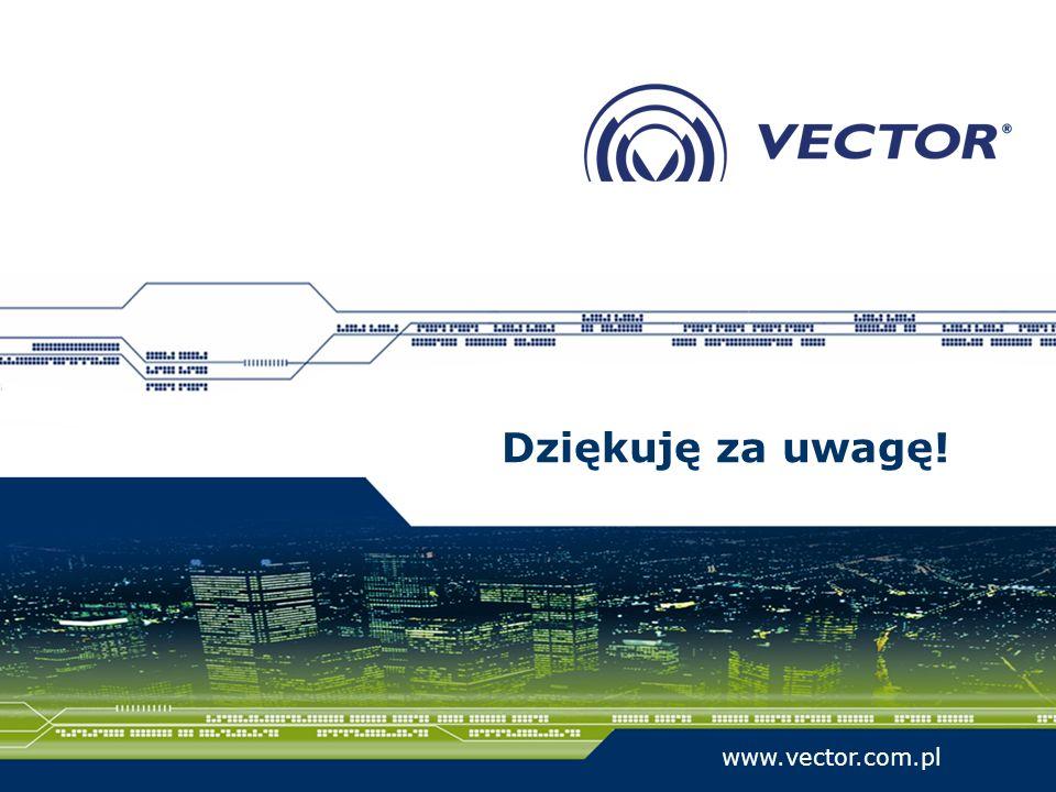 Dziękuję za uwagę! www.vector.com.pl