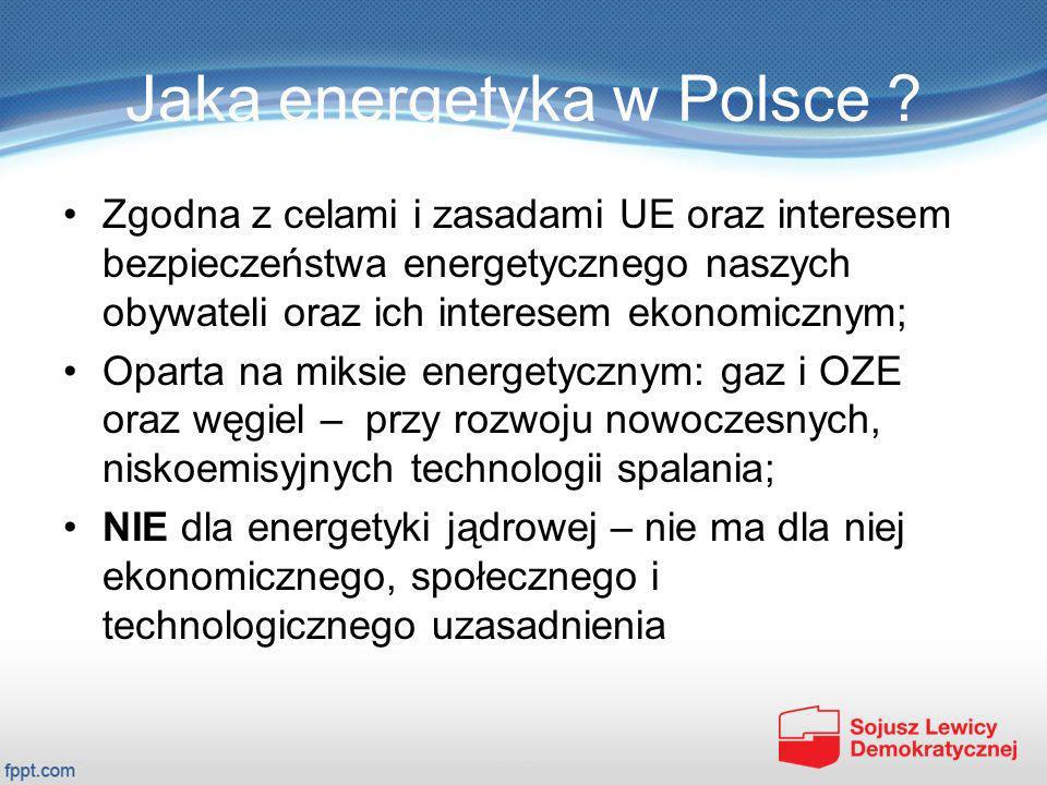 Jaka energetyka w Polsce