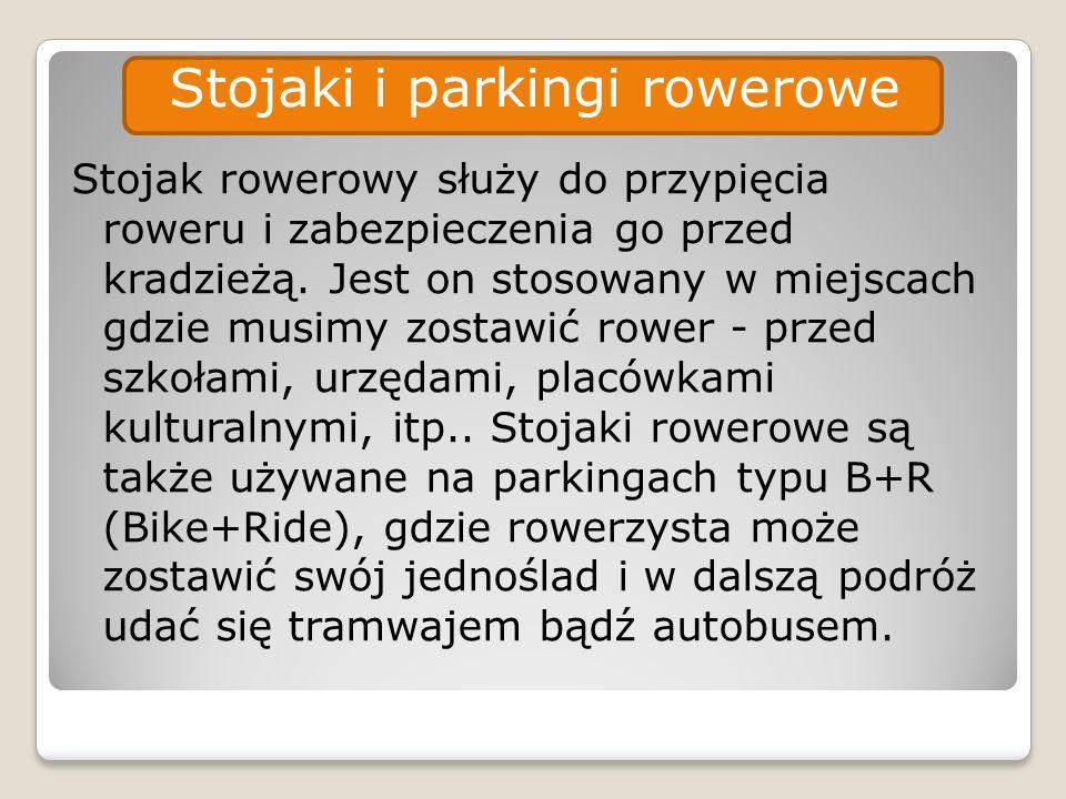 Stojaki i parkingi rowerowe
