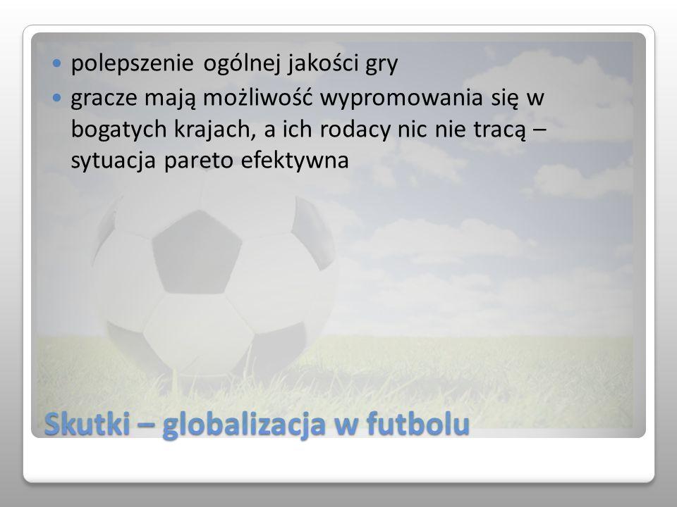 Skutki – globalizacja w futbolu