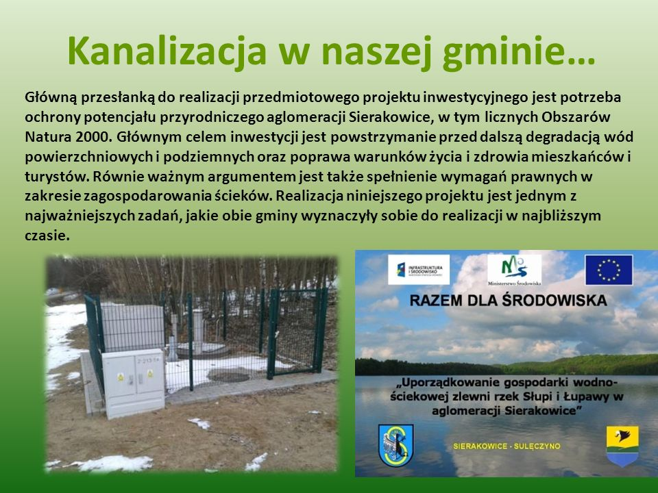 Kanalizacja w naszej gminie…