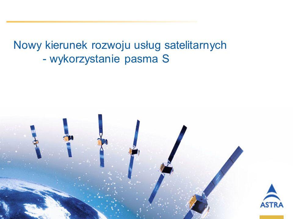 Nowy kierunek rozwoju usług satelitarnych - wykorzystanie pasma S