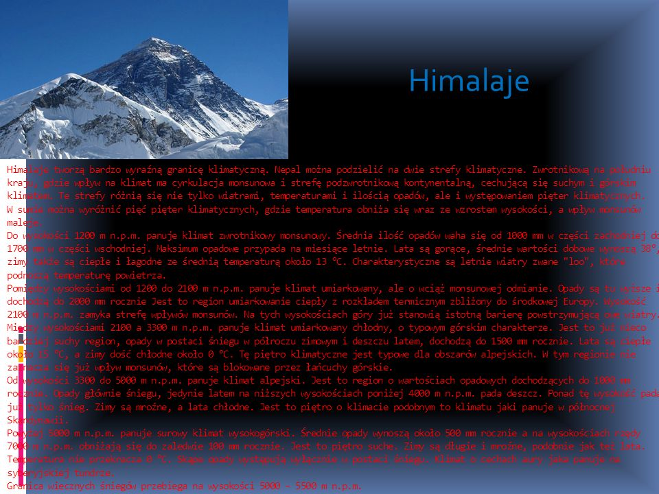 Himalaje