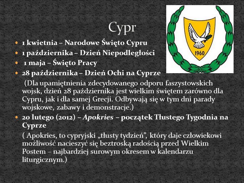 Cypr 1 kwietnia – Narodowe Święto Cypru
