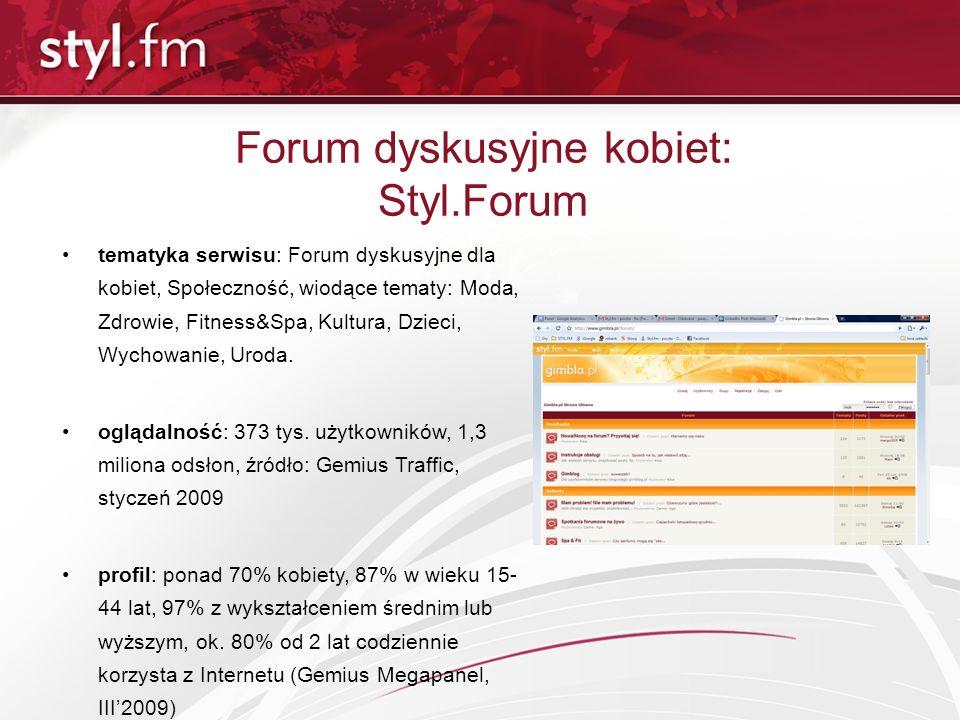 Forum dyskusyjne kobiet: Styl.Forum