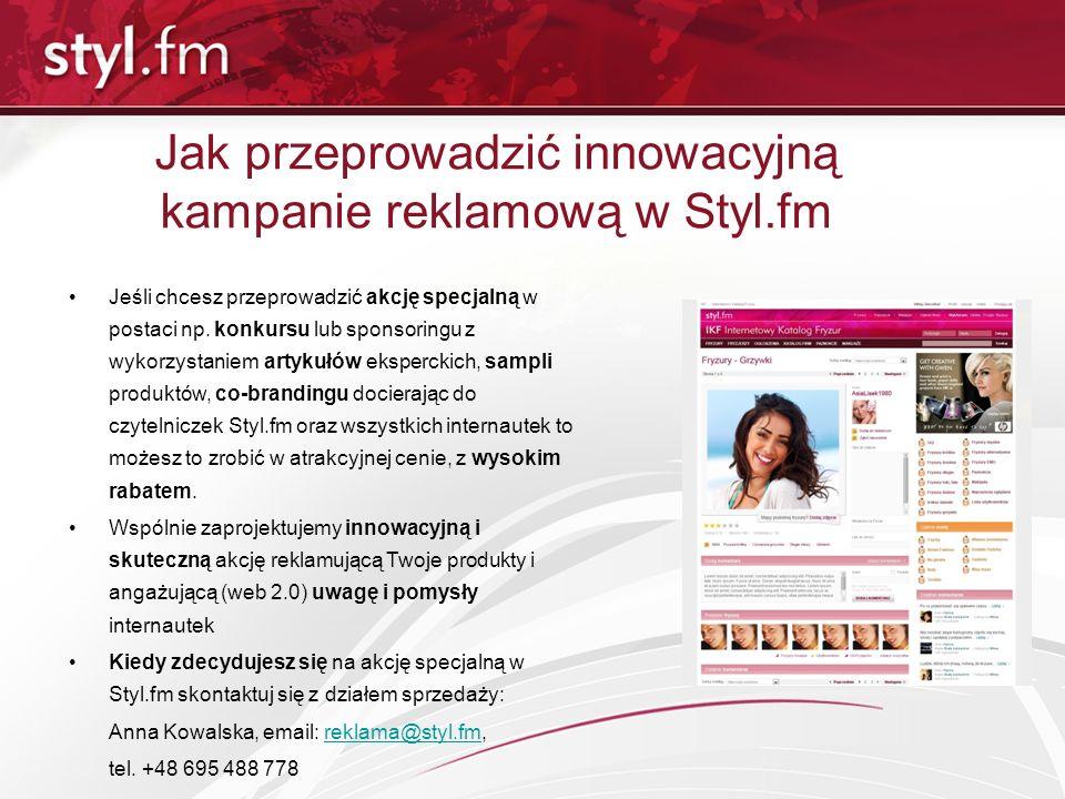 Jak przeprowadzić innowacyjną kampanie reklamową w Styl.fm