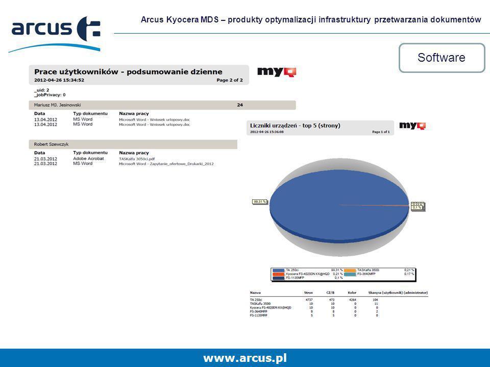 Arcus Kyocera MDS – produkty optymalizacji infrastruktury przetwarzania dokumentów