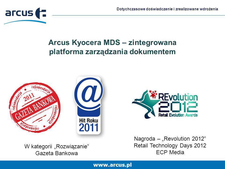 Arcus Kyocera MDS – zintegrowana platforma zarządzania dokumentem