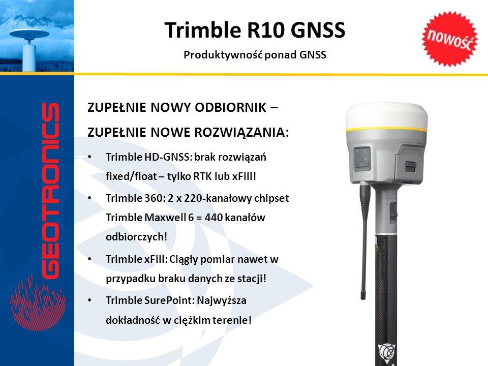 Produktywność ponad GNSS