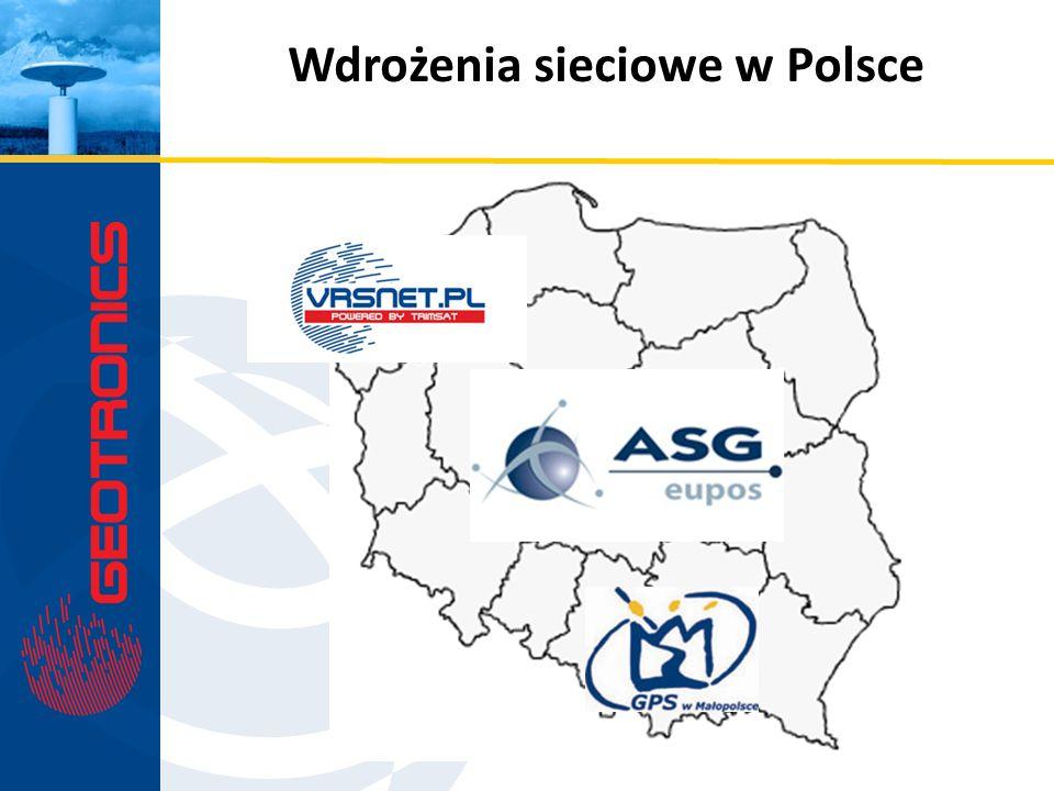 Wdrożenia sieciowe w Polsce