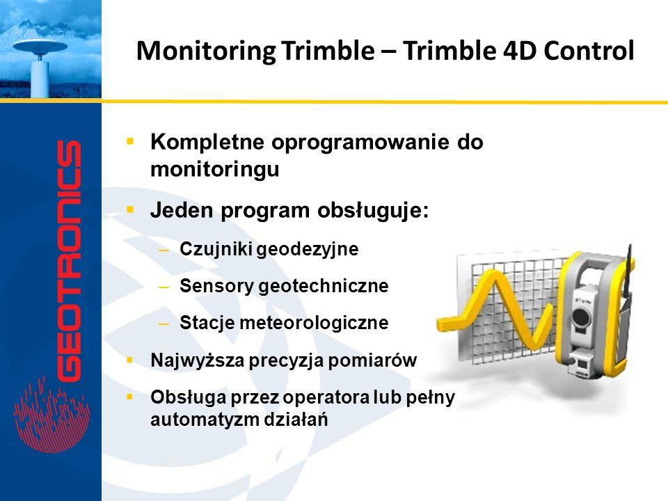 Monitoring Trimble – Trimble 4D Control