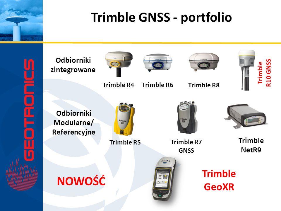 Trimble GNSS - portfolio