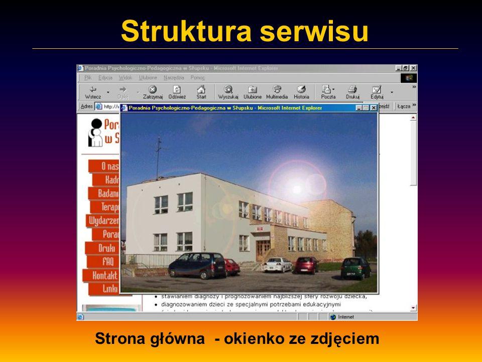 Strona główna - okienko ze zdjęciem