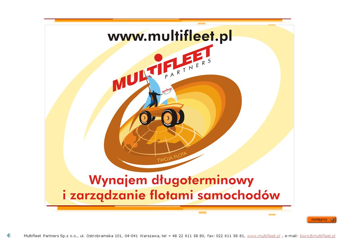 Multifleet Partners Sp. z o. o. , ul