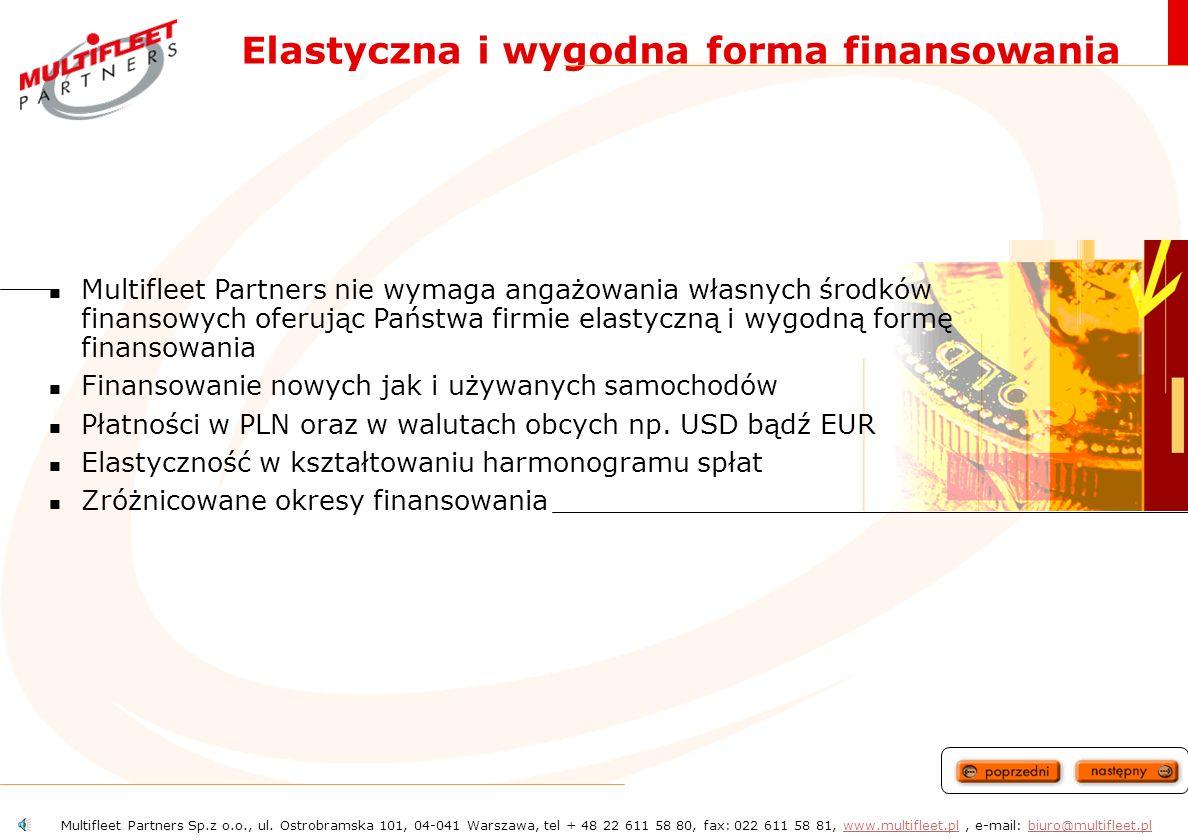 Elastyczna i wygodna forma finansowania