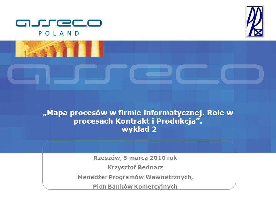 Menadżer Programów Wewnętrznych, Pion Banków Komercyjnych
