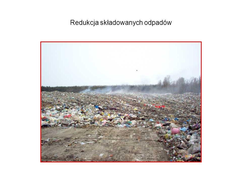 Redukcja składowanych odpadów