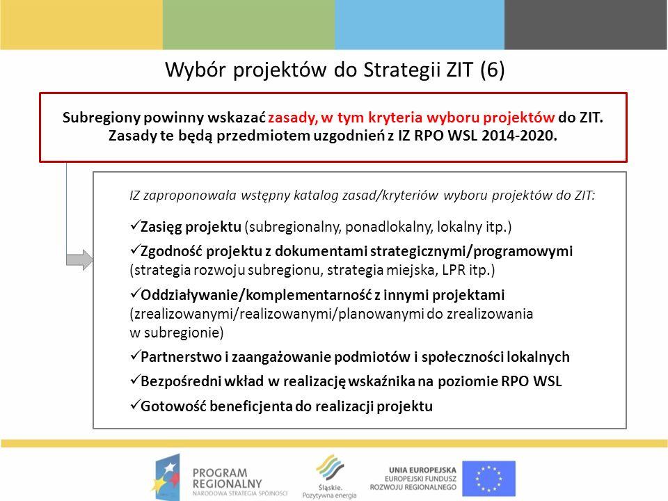 Wybór projektów do Strategii ZIT (6)