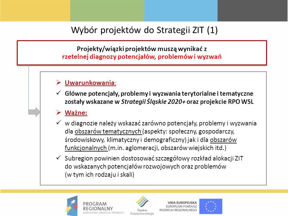 Wybór projektów do Strategii ZIT (1)