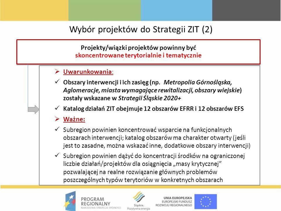 Wybór projektów do Strategii ZIT (2)
