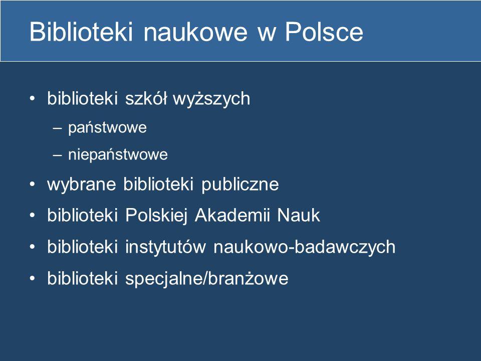 Biblioteki naukowe w Polsce