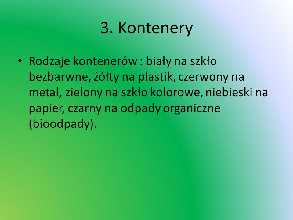 3. Kontenery