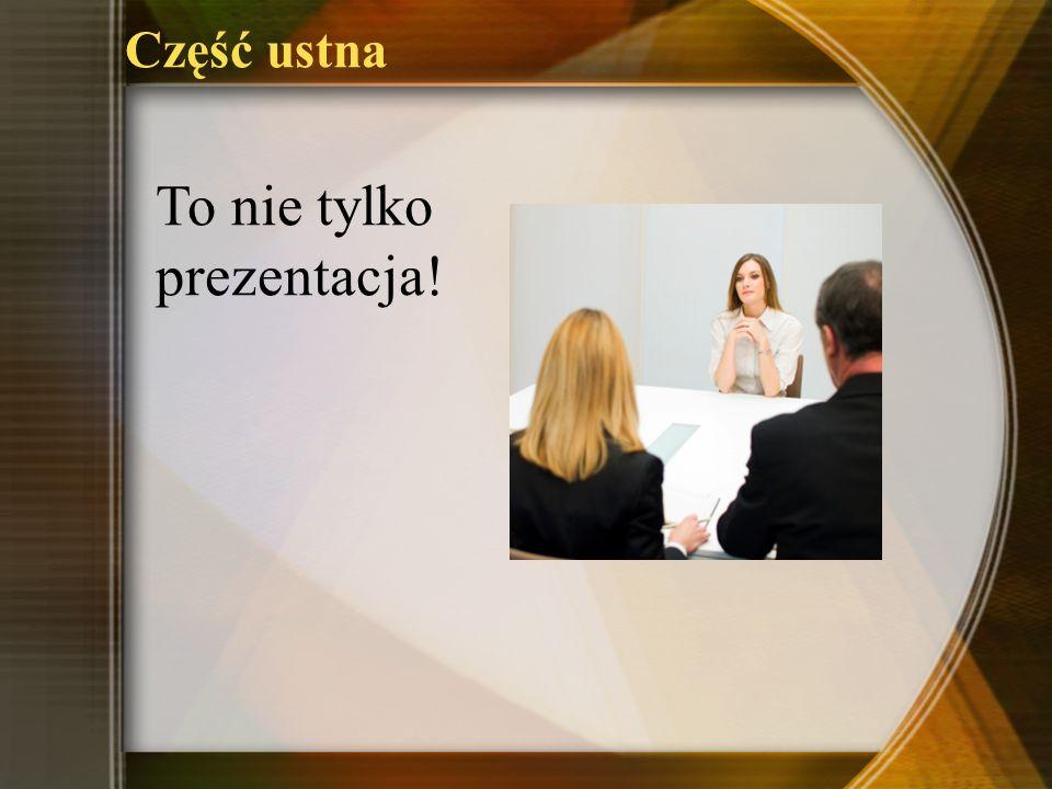 To nie tylko prezentacja!