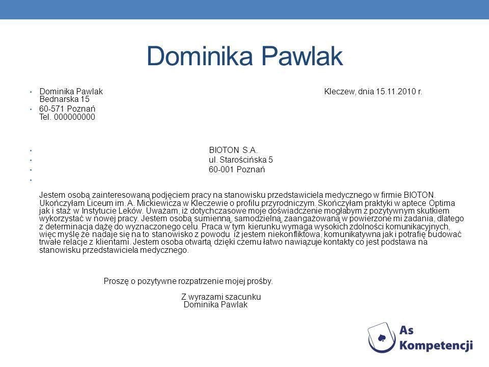 Dominika Pawlak