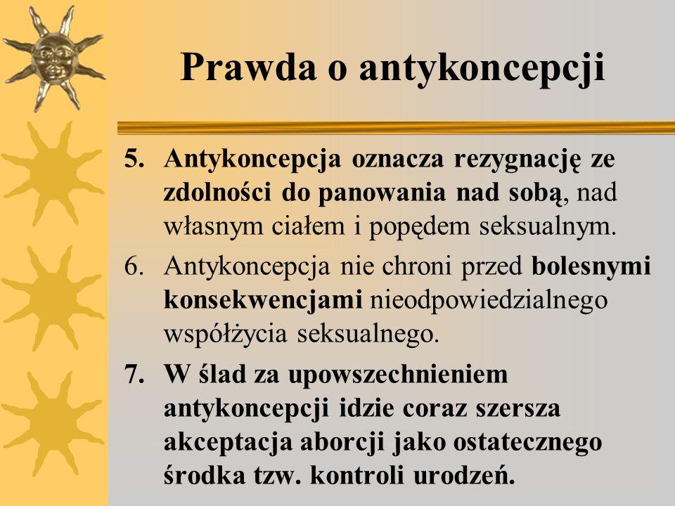 Prawda o antykoncepcji