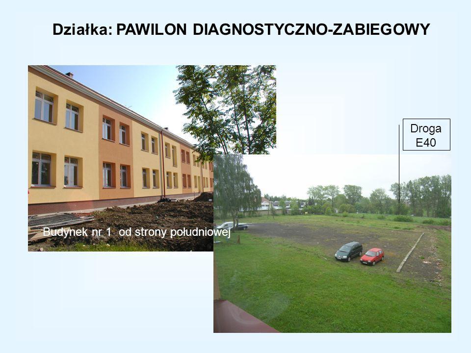 Działka: PAWILON DIAGNOSTYCZNO-ZABIEGOWY