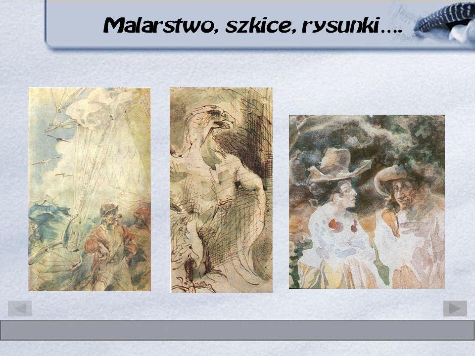 Malarstwo, szkice, rysunki….