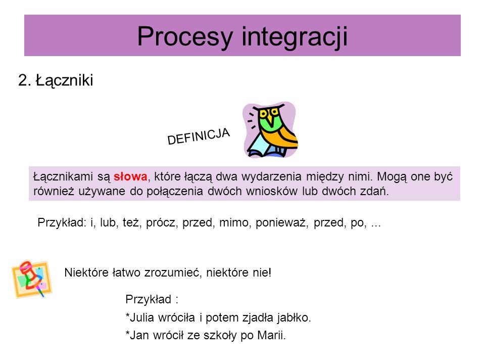 Procesy integracji 2. Łączniki DEFINICJA