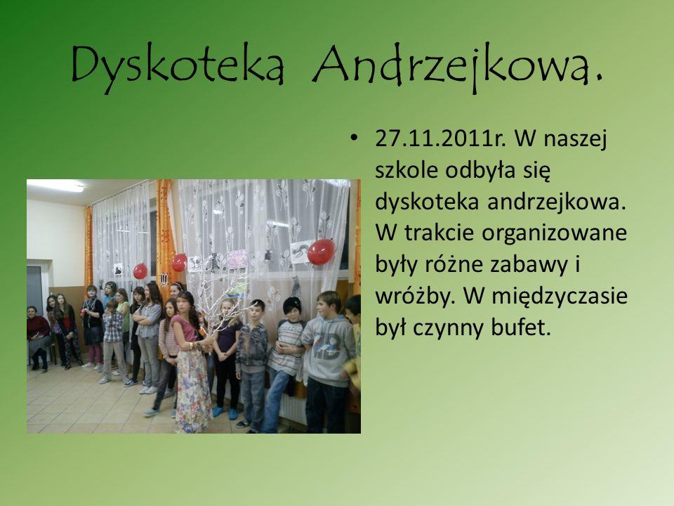 Dyskoteka Andrzejkowa.