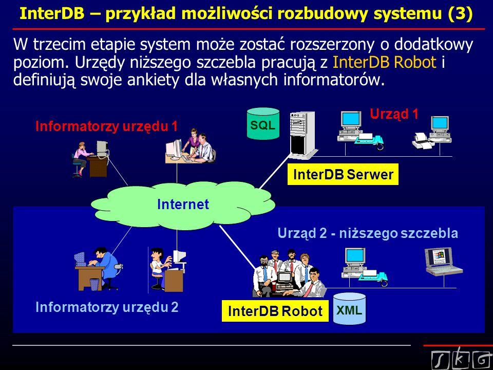 InterDB – przykład możliwości rozbudowy systemu (3)