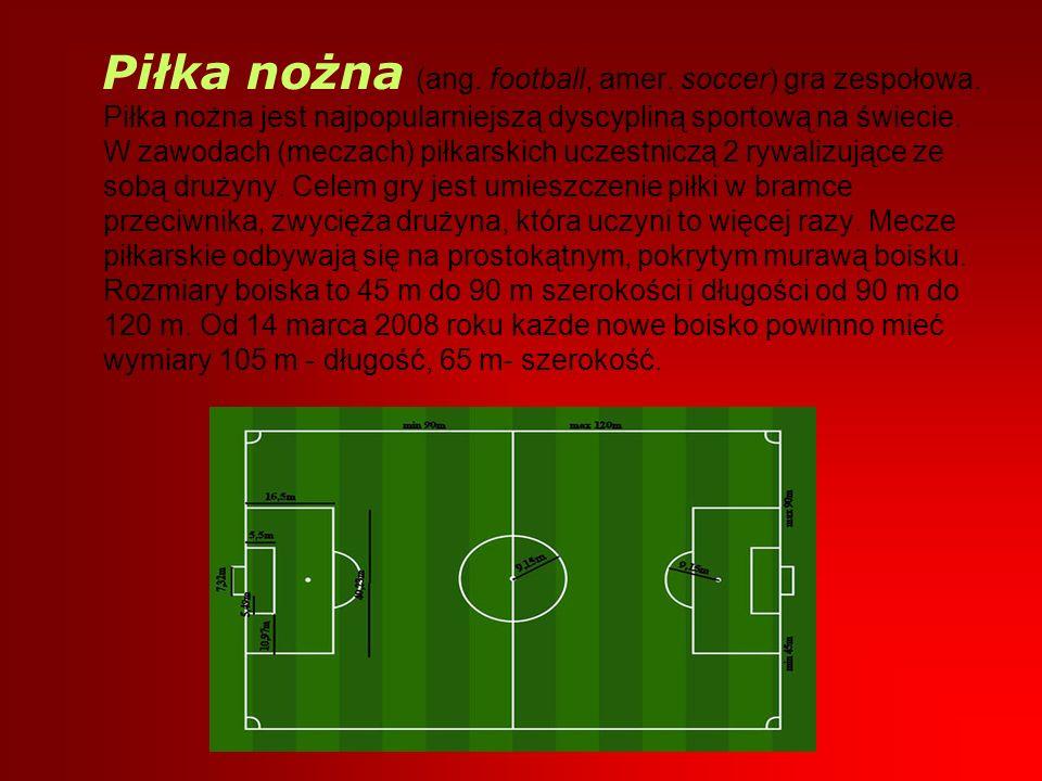 Piłka nożna (ang. football, amer. soccer) gra zespołowa