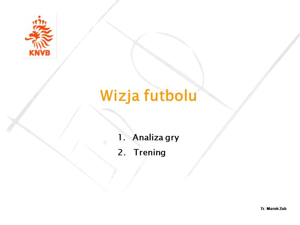 Wizja futbolu Analiza gry 2. Trening Tr. Marek Zub