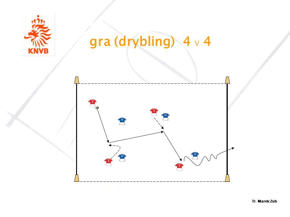 gra (drybling) 4 V 4 Tr. Marek Zub