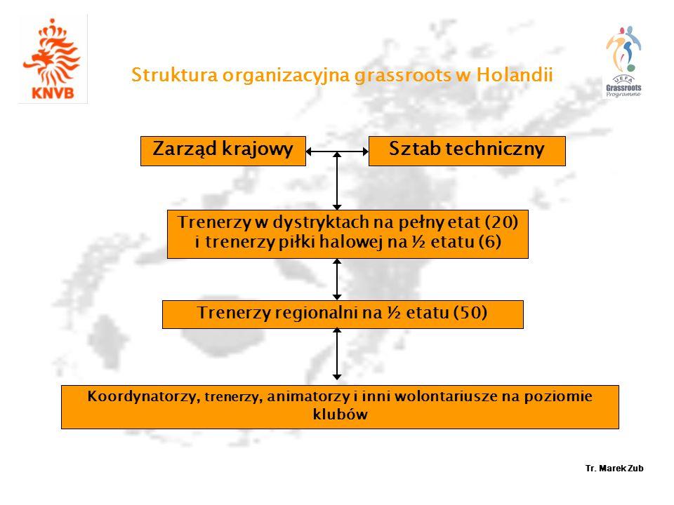 Struktura organizacyjna grassroots w Holandii