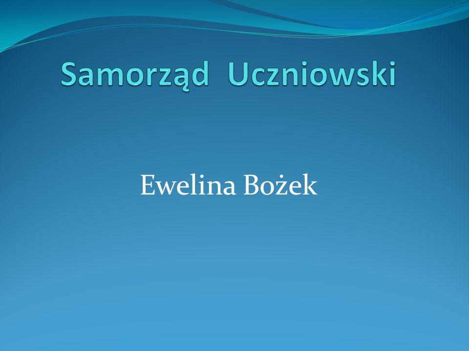 Samorząd Uczniowski Ewelina Bożek