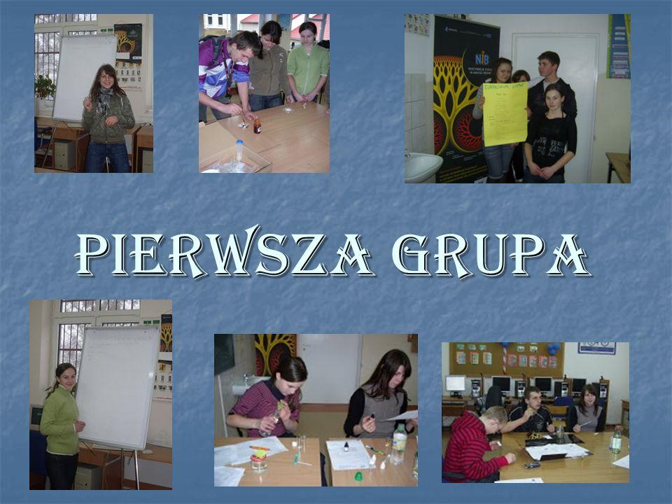 PIERWSZA GRUPA