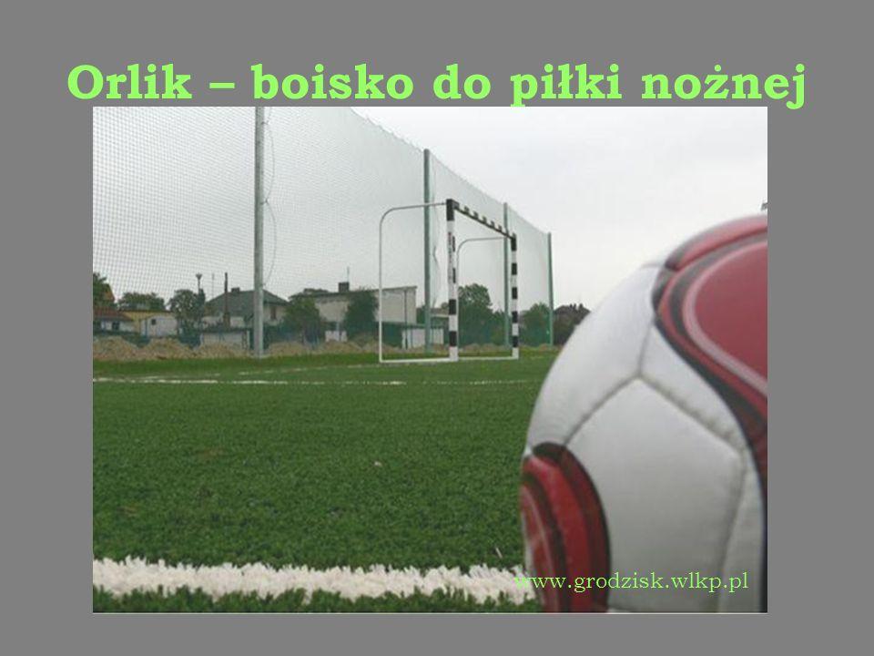 Orlik – boisko do piłki nożnej