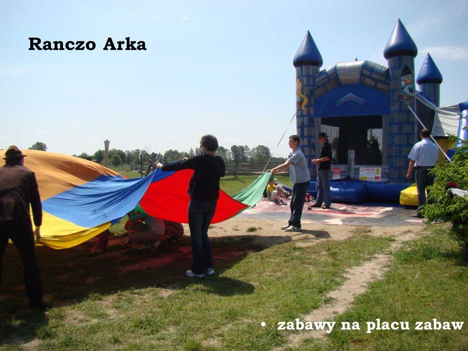 Ranczo Arka zabawy na placu zabaw