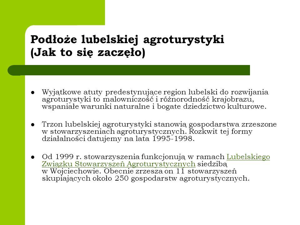 Podłoże lubelskiej agroturystyki (Jak to się zaczęło)