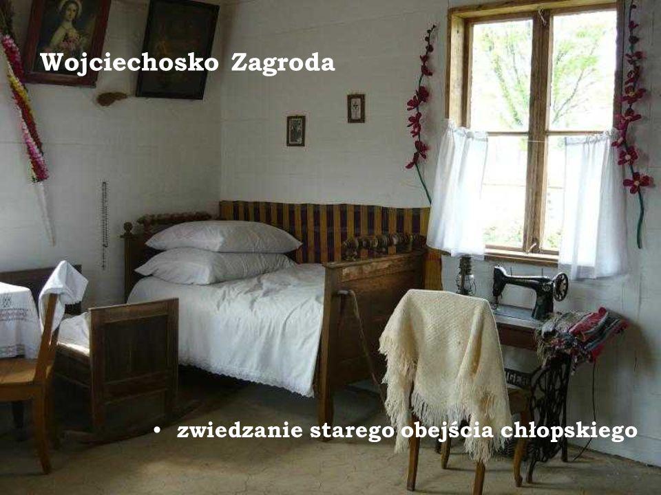 Wojciechosko Zagroda zwiedzanie starego obejścia chłopskiego