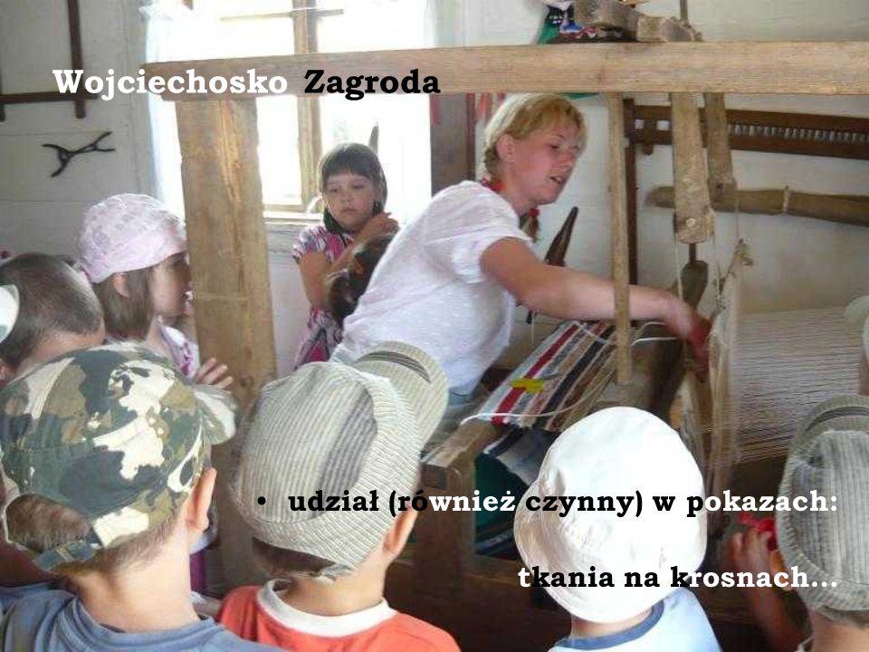 Wojciechosko Zagroda udział (również czynny) w pokazach: