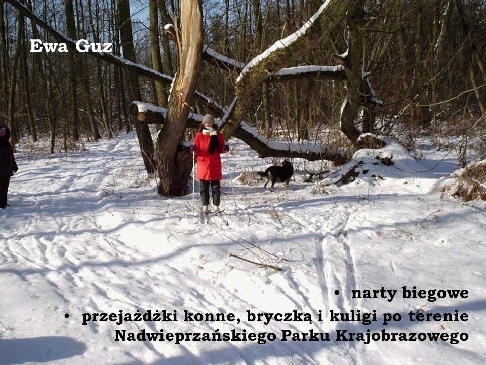 Ewa Guz narty biegowe.